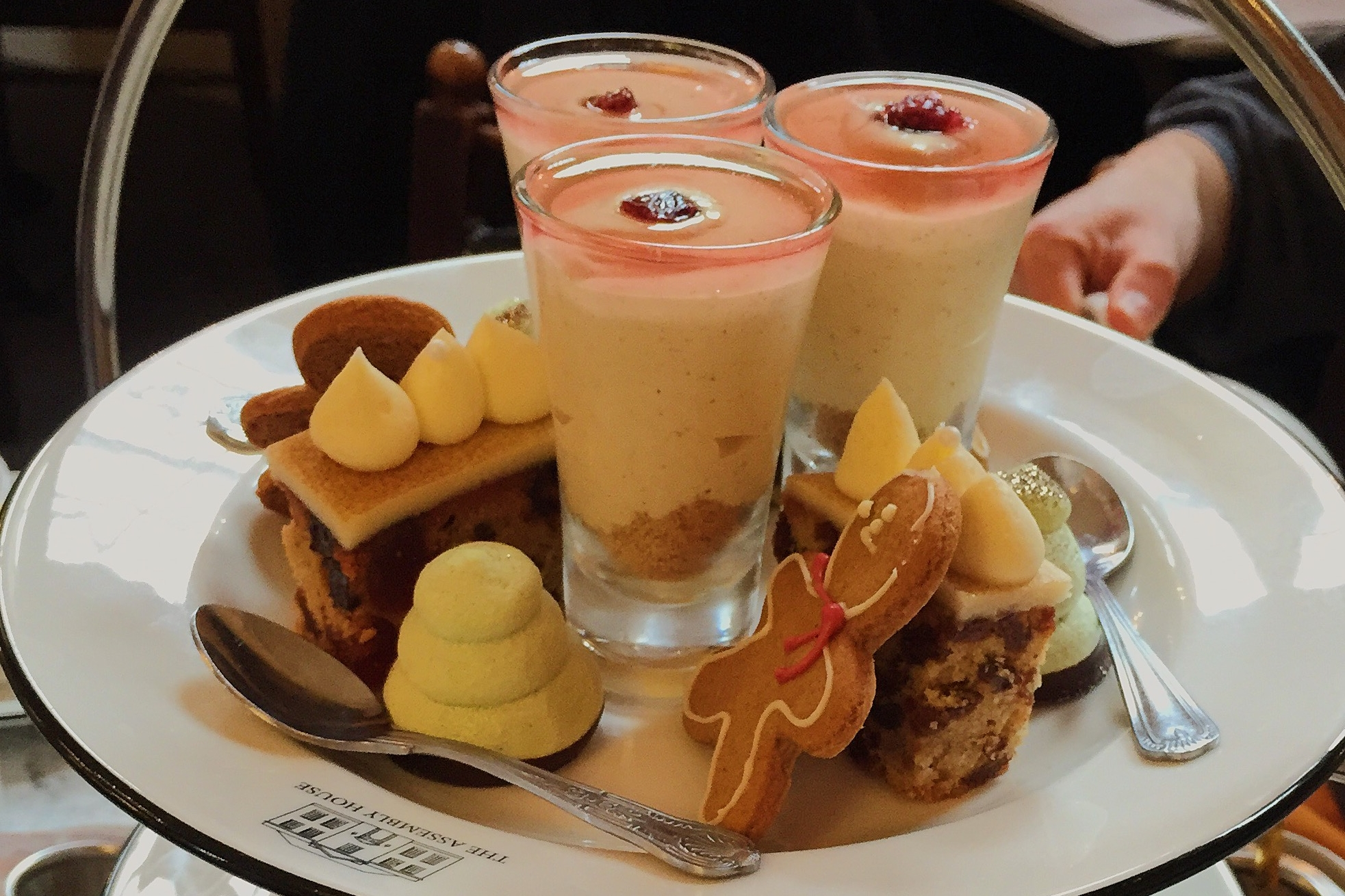Festive afternoon tea at the Assembly House in 2016