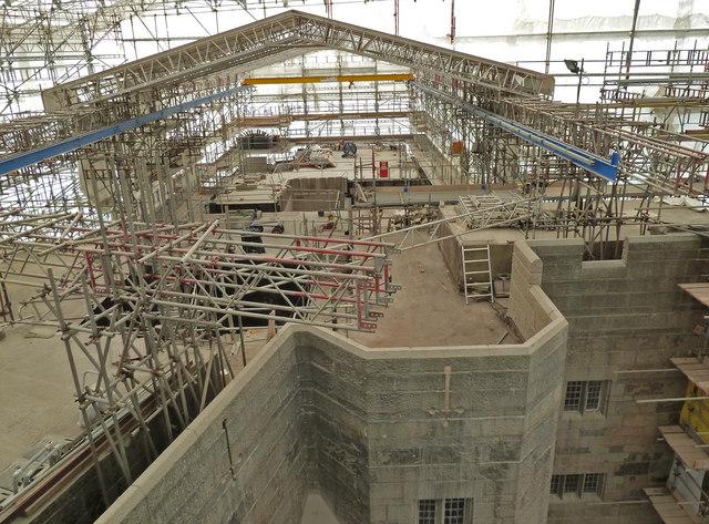 Image credit: Castle Drogo restoration work via  Chris Allen  /  Creative Commons