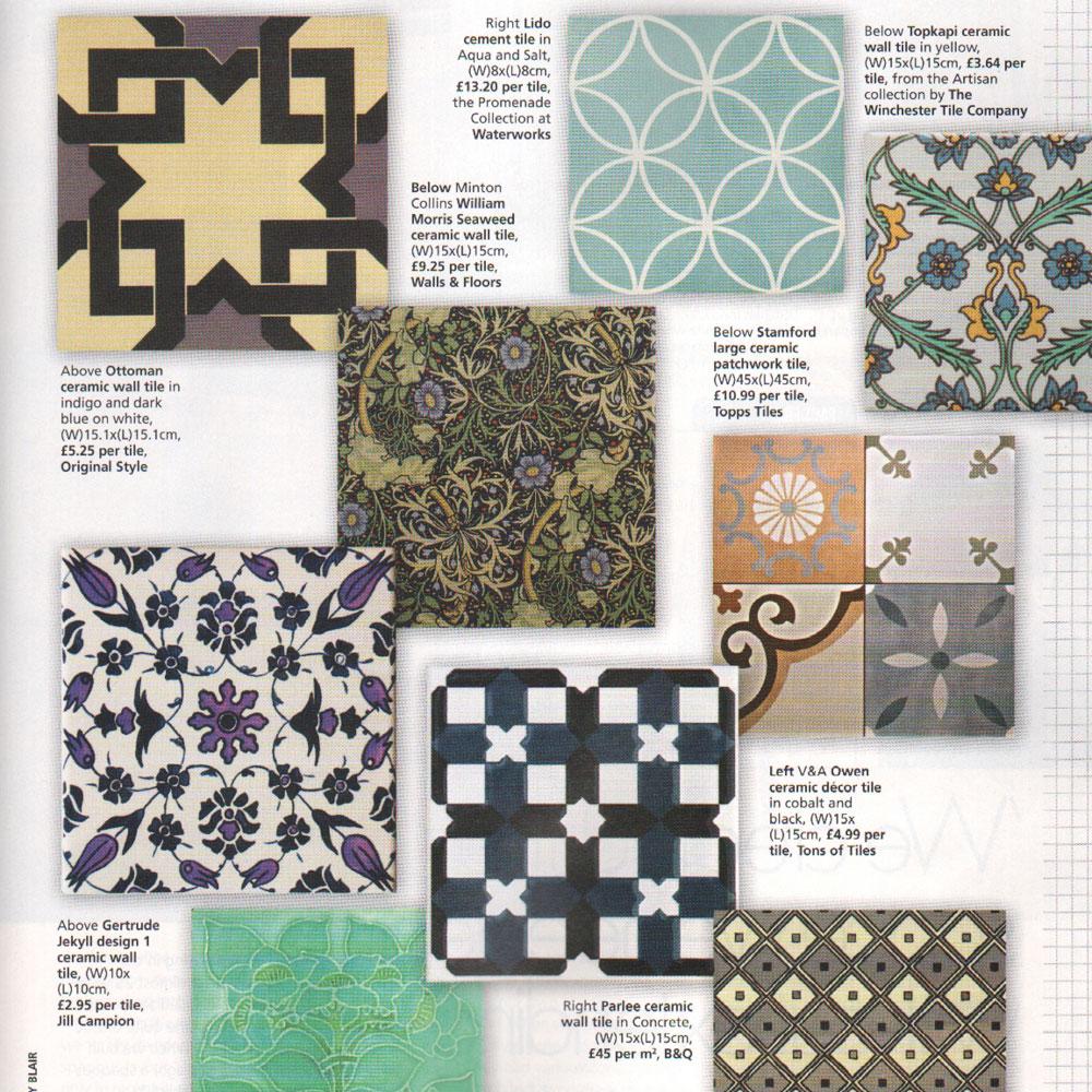 Topps Tiles|Interiors PR Campaign