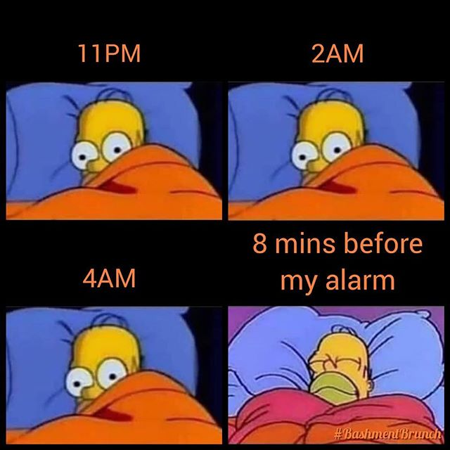 Every. Single. Morning 😩😂 #MondaysBeLike #MashUpDiPlace