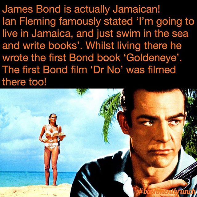 Soooo when are we gonna get a Jamaican James Bond?! 😏 #hereforit #MashUpDiPlace
