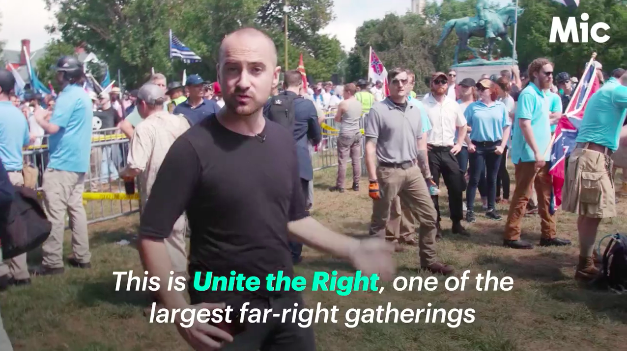 On-the-ground coverage of the notorious 'Unite the Right' rally held in Charlottesville, VA in 2017.  Watch the  full video here .