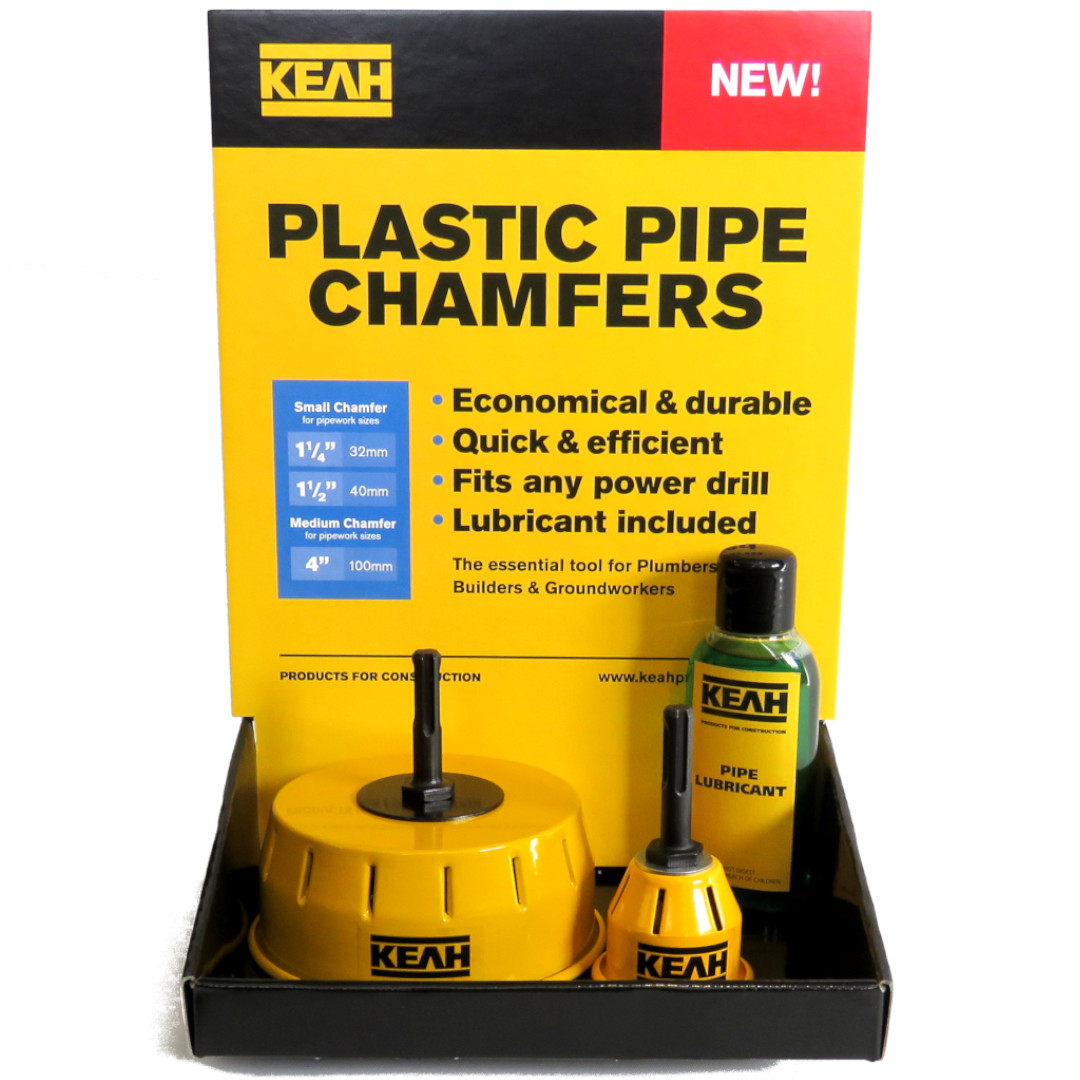 KEAH Plastic Pipe Chamfer Counter-top display
