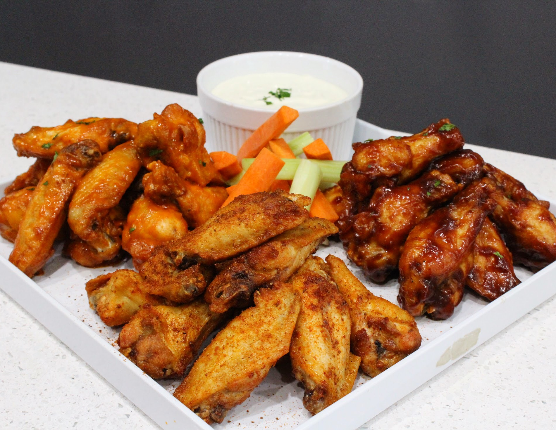 House made favorites for the Big game - We're making all your game day party favorites like wings, queso, crab dip and more. Order ahead of time by calling 301-841-8151 or pick up in store.