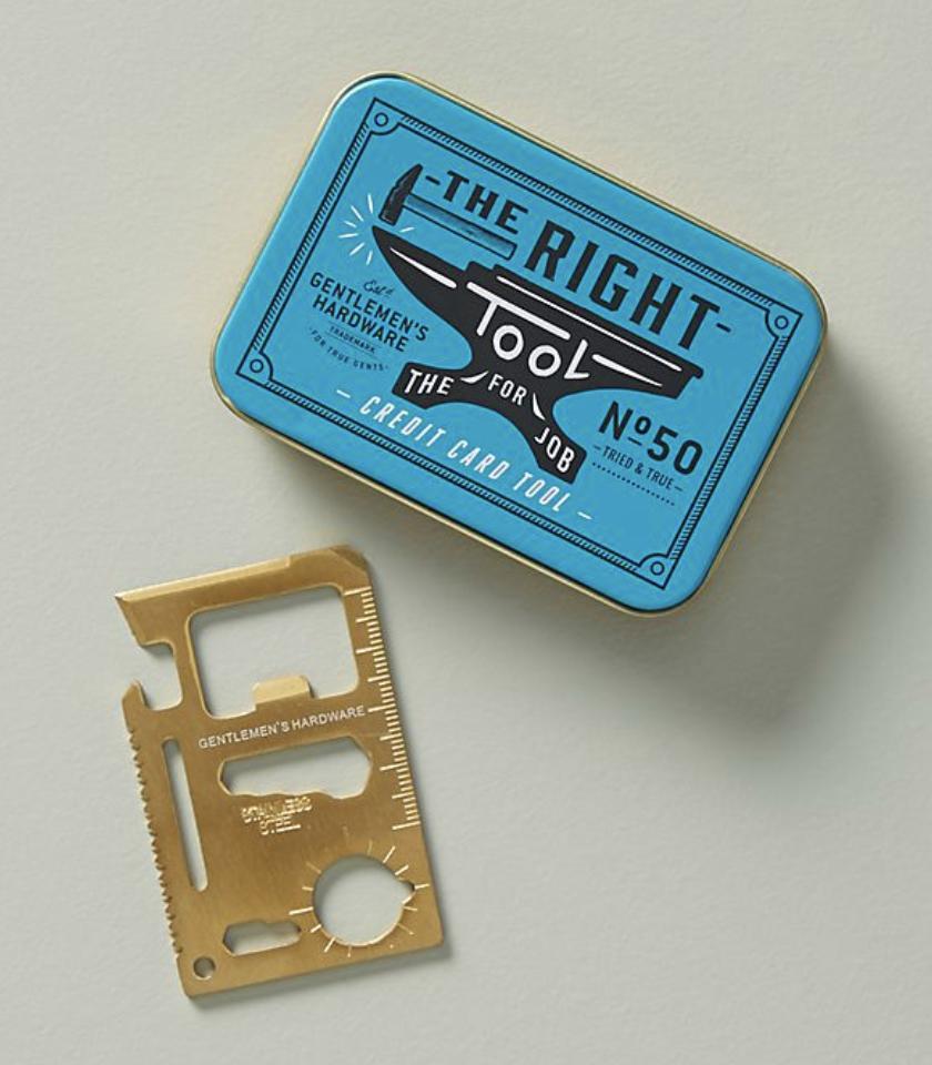 6. Gentlemen's Hardware The Right Tool - $13.00