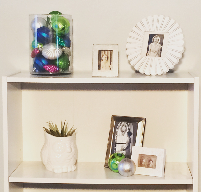 2. Fill a Vase with Ornaments -