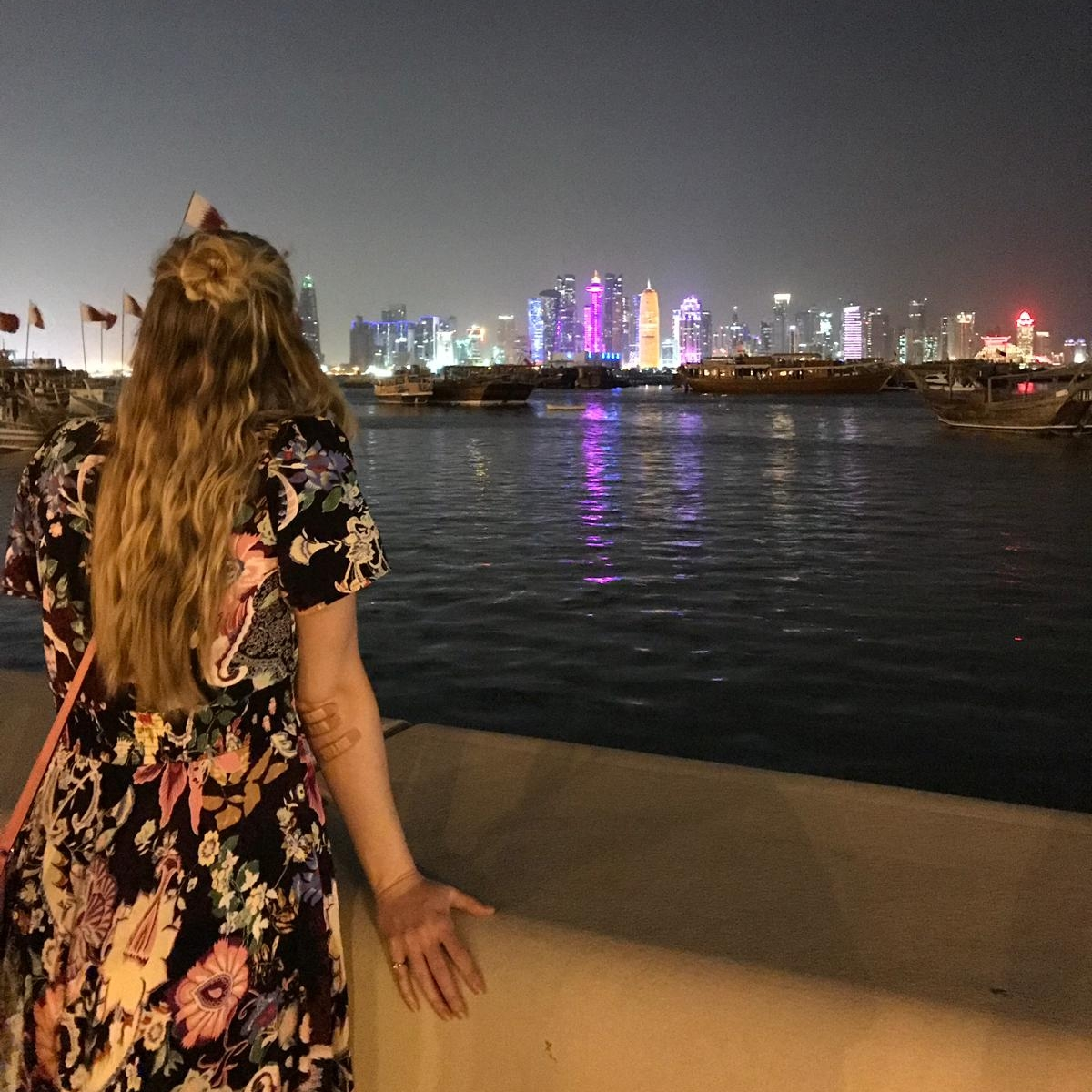 One of my last nights in Doha.