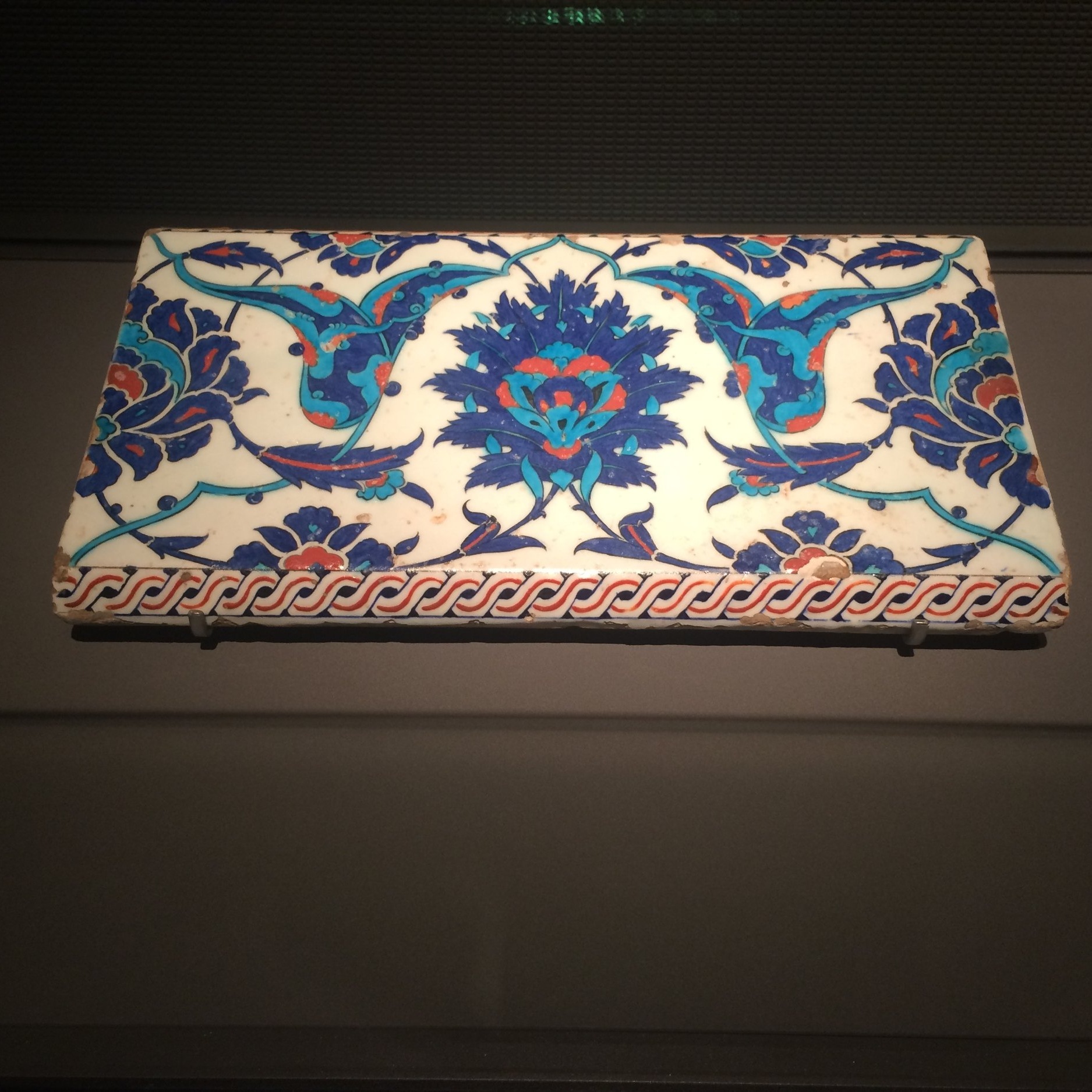 Gorgeous Turkish tiles that I want to replicate in my home.