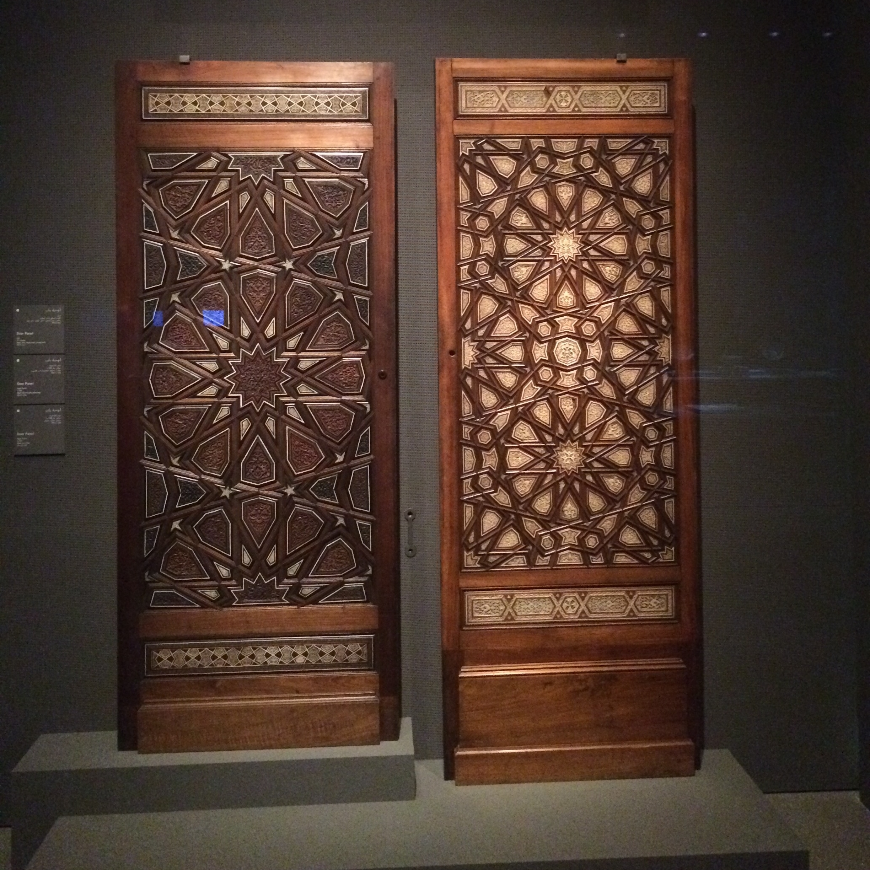 Beautifully detailed wood work.
