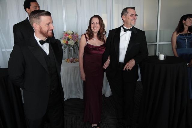 Scene at a Ballroom Gala.