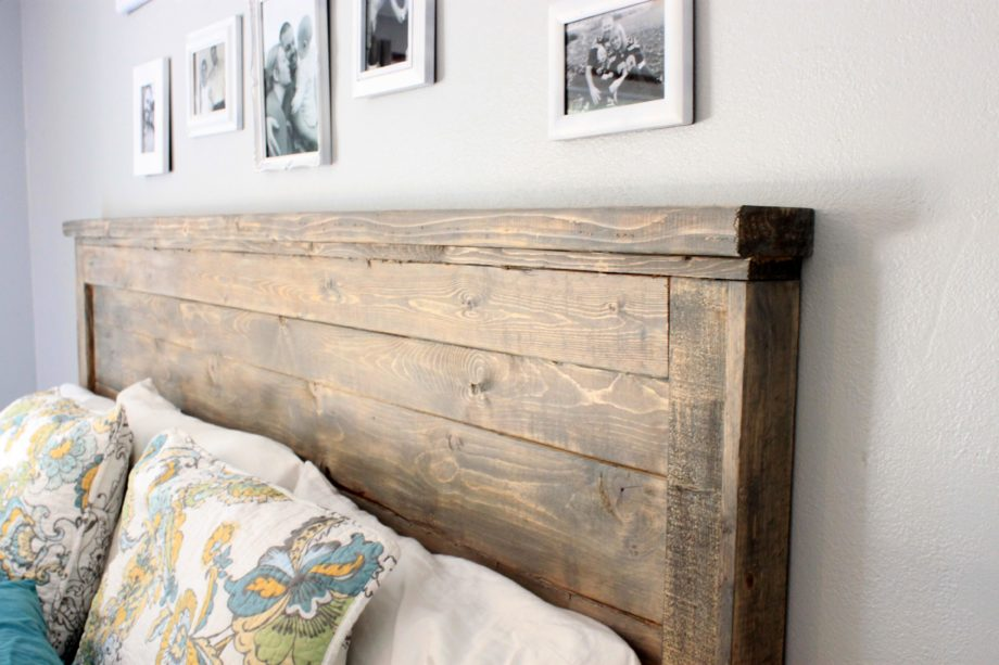 Planked Wood - A DIY that can be done with repurposed wood.