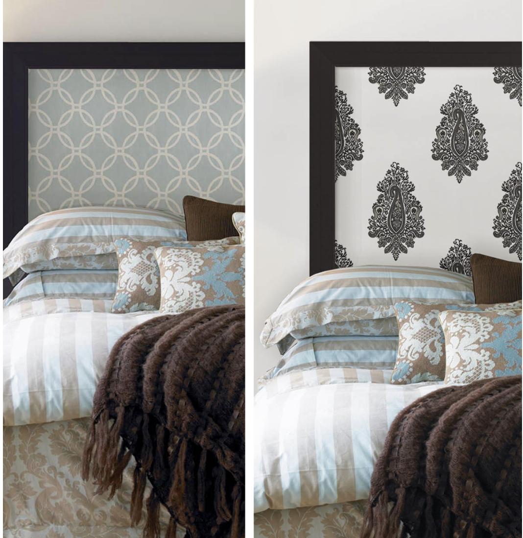 Wallpaper - Can also use removable wallpaper in rentals.