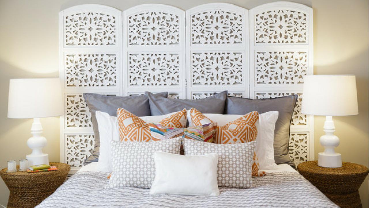 Room Divider - Use a decorative screen.