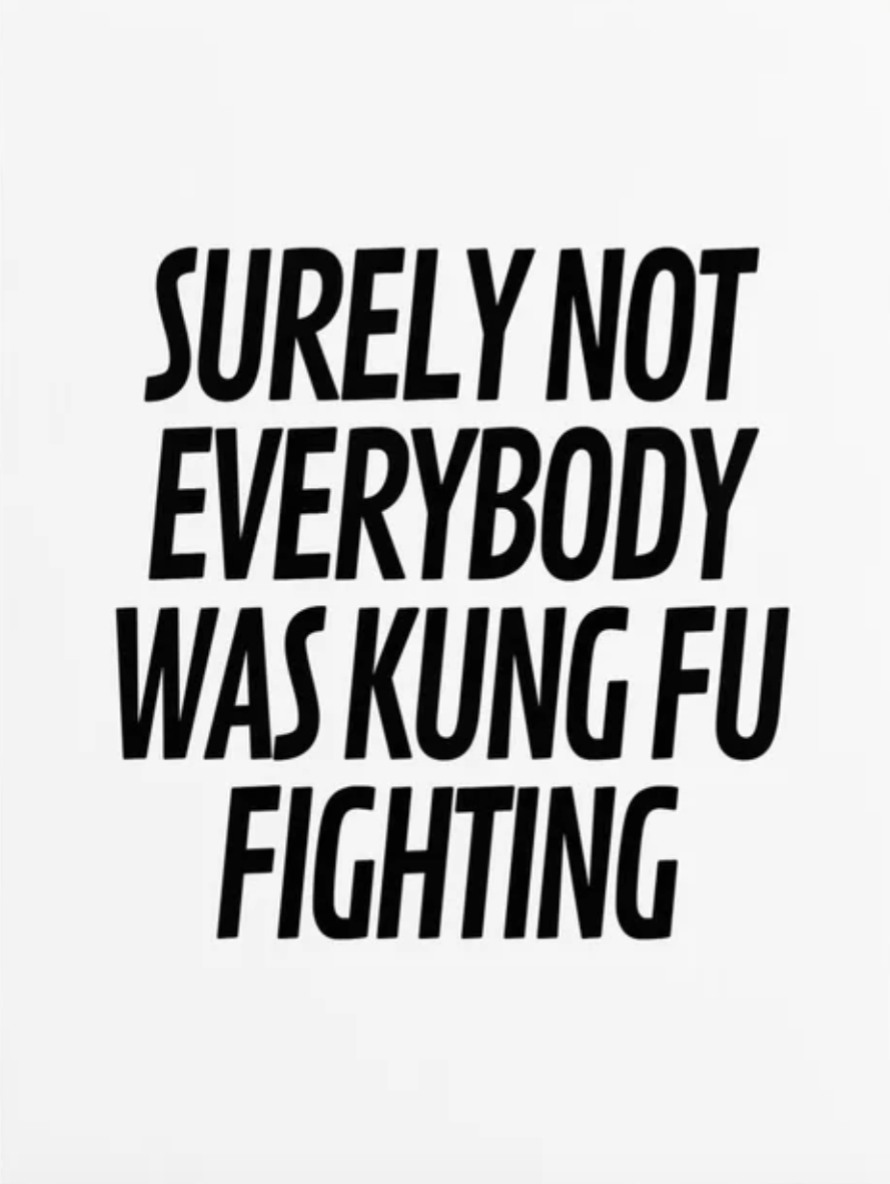 Surely not everyone was Kung Fu Fighting.png