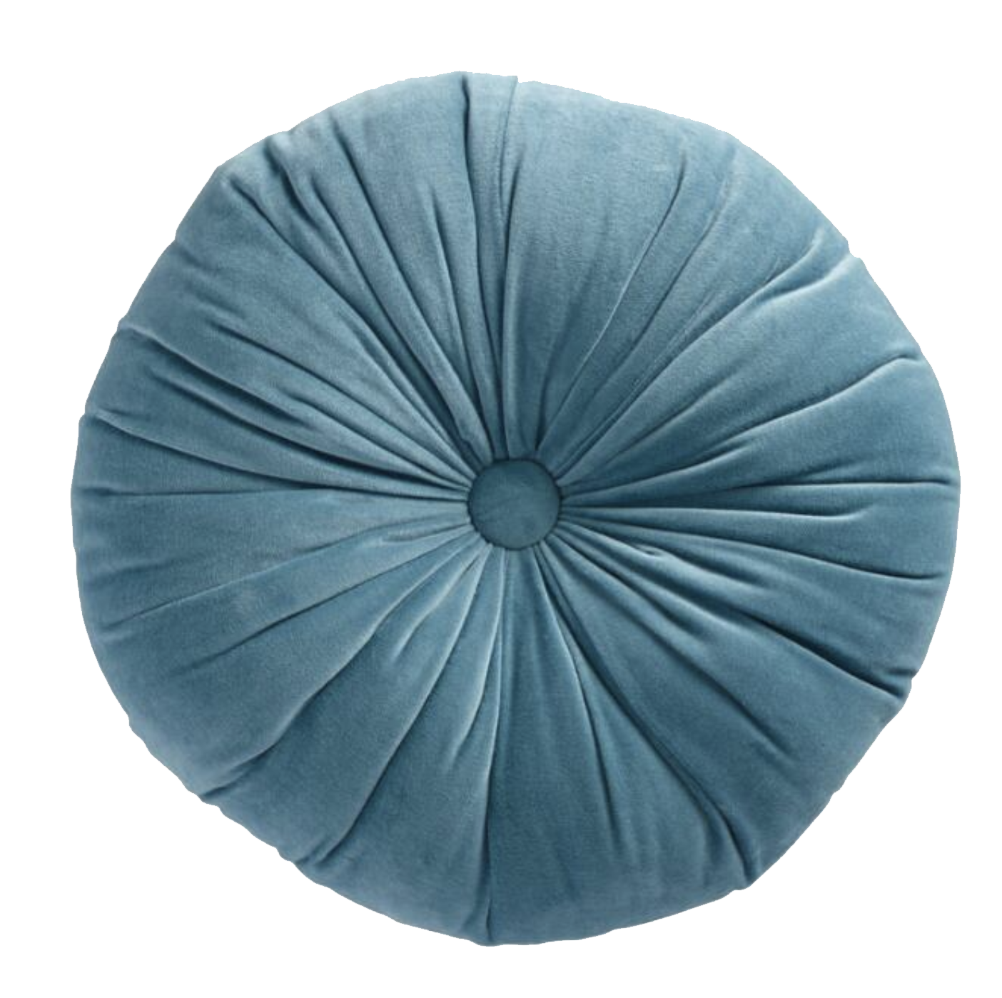 Blue Round Pillow.png