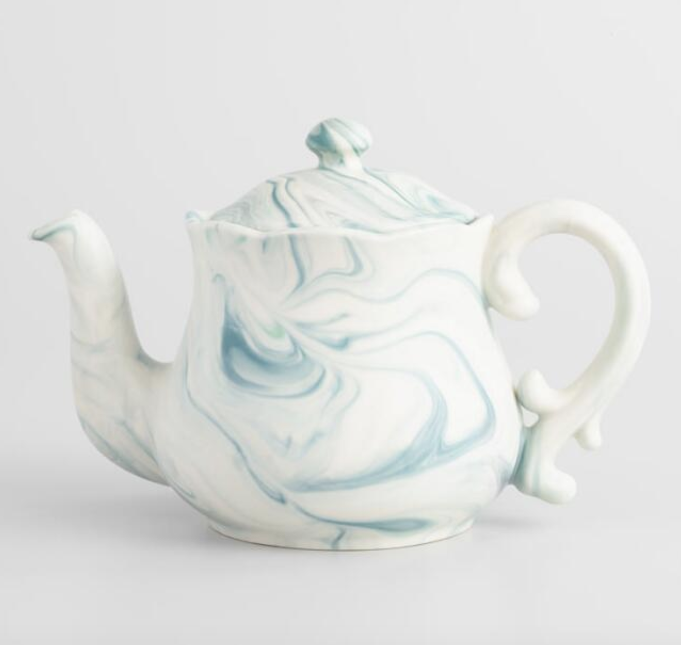 Marble Tea Pot