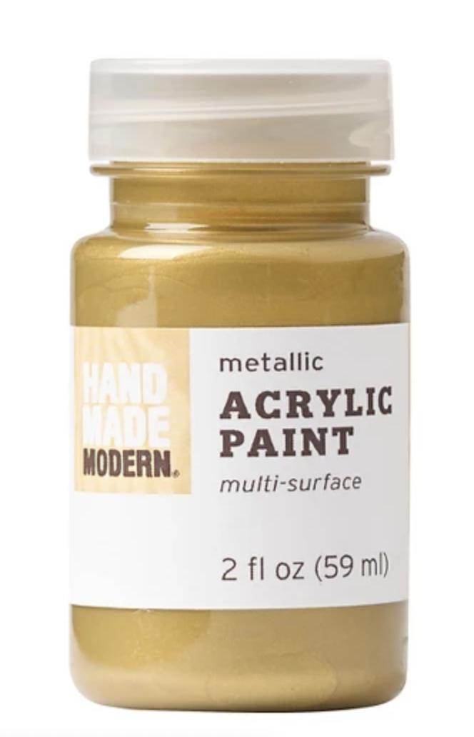 20K Gold Acrylic Paint