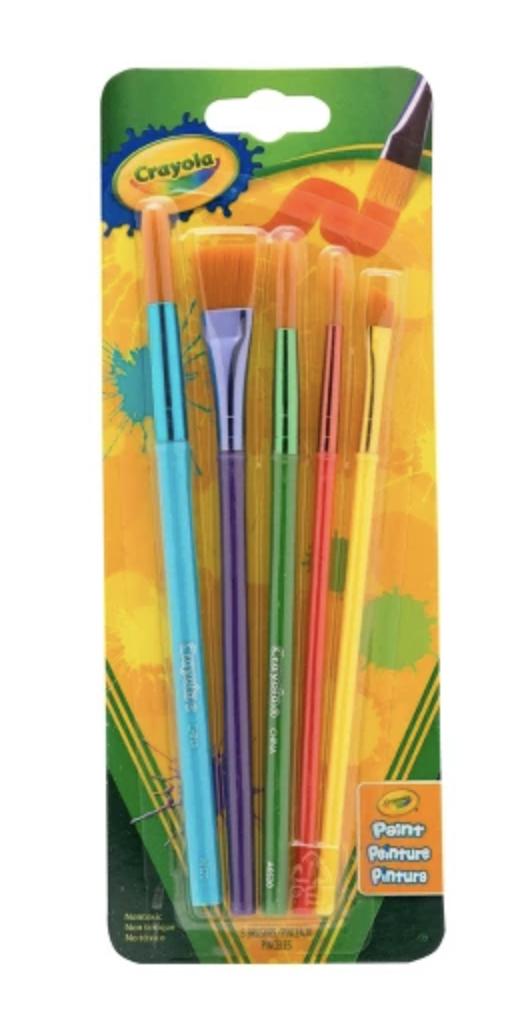 Crayola 5 Pack Brushes