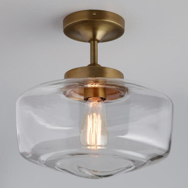 Brass And Glass Dome - Available at Cost Plus World Market