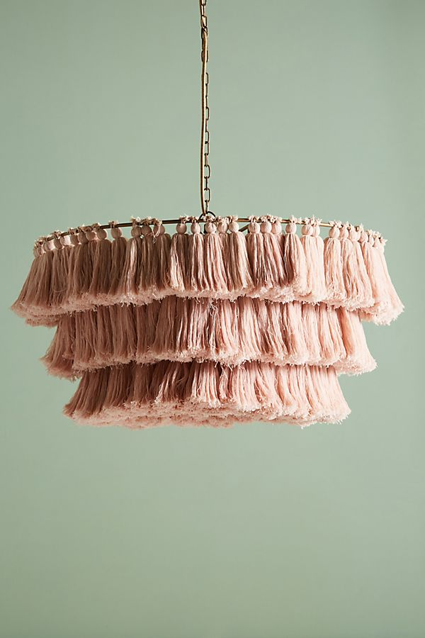 Tassled Chandelier - Available at Anthropologie