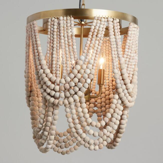 Beaded Chandelier - Available at Cost Plus World Market