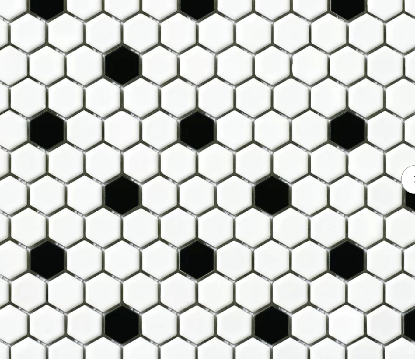Vintage Hexagon -