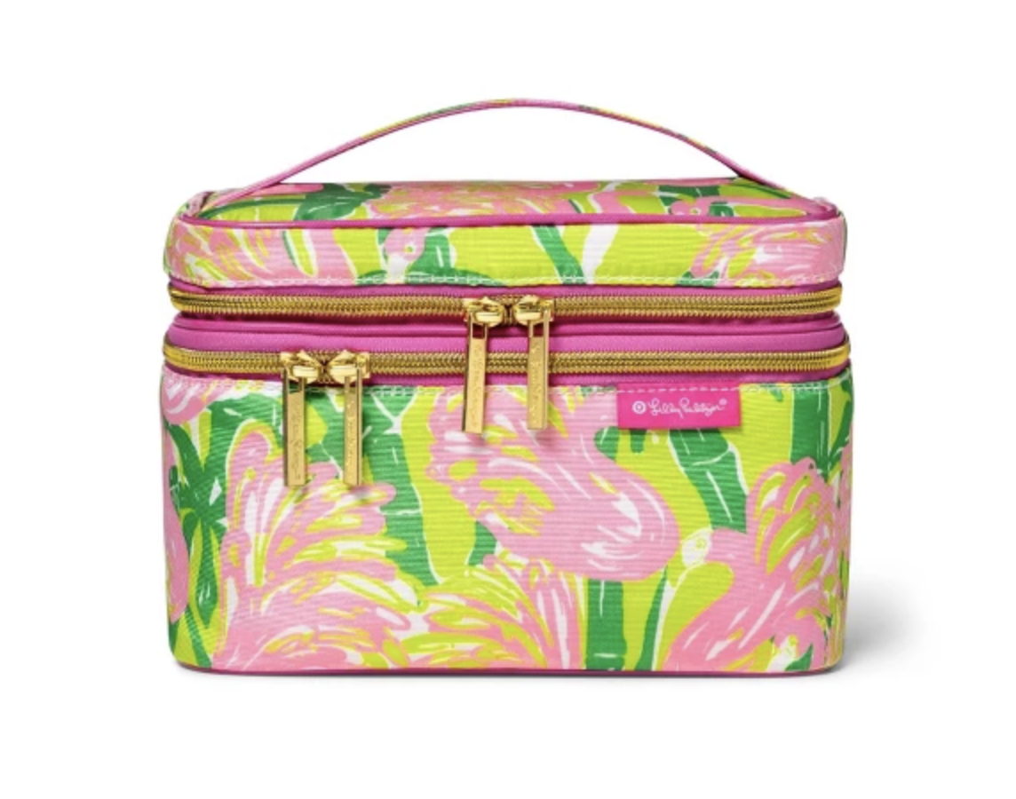 Lily Pulitzer Cosmetic Train Case -