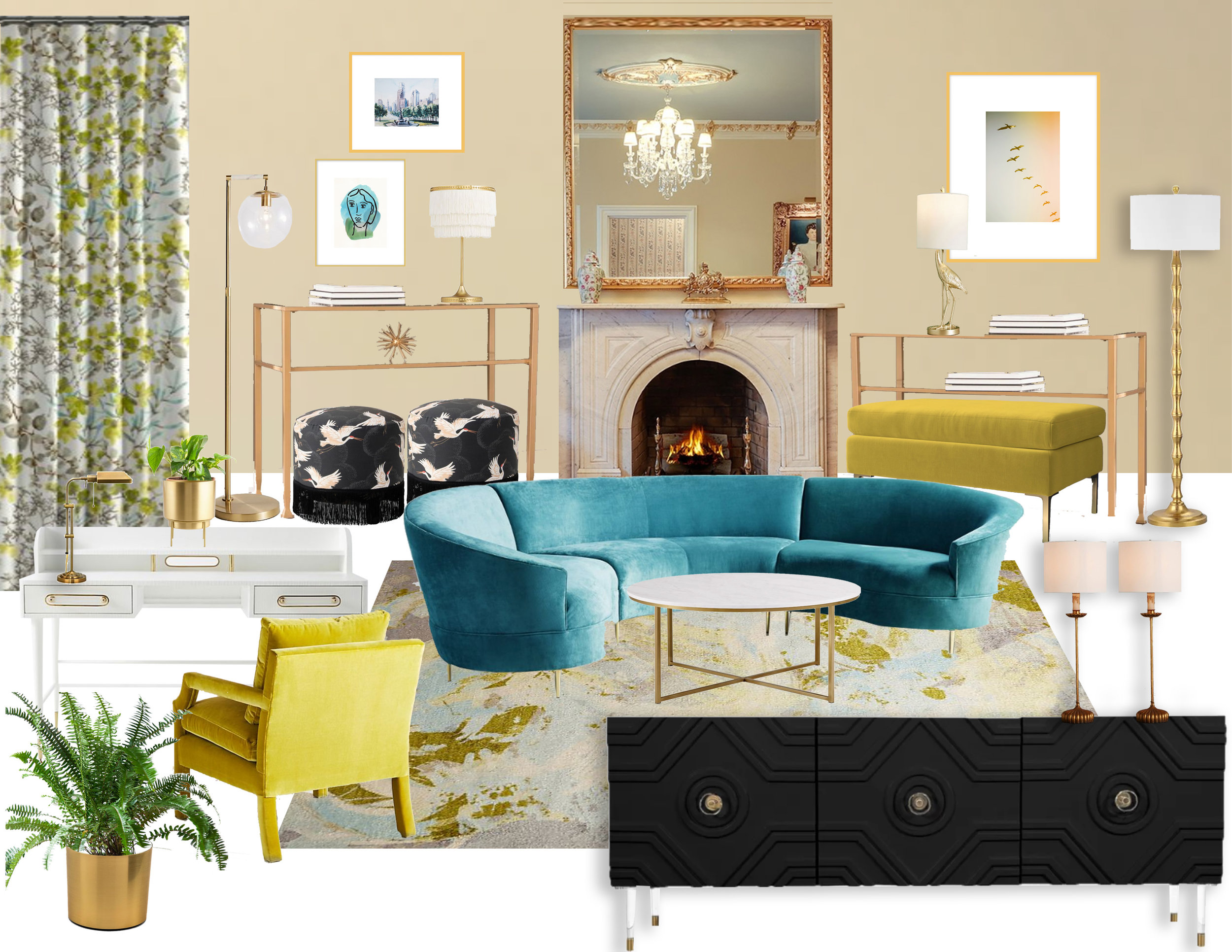 Image of: Mood Board Monday Mid Century Modern Scandinavian Influence Redesigned Classics