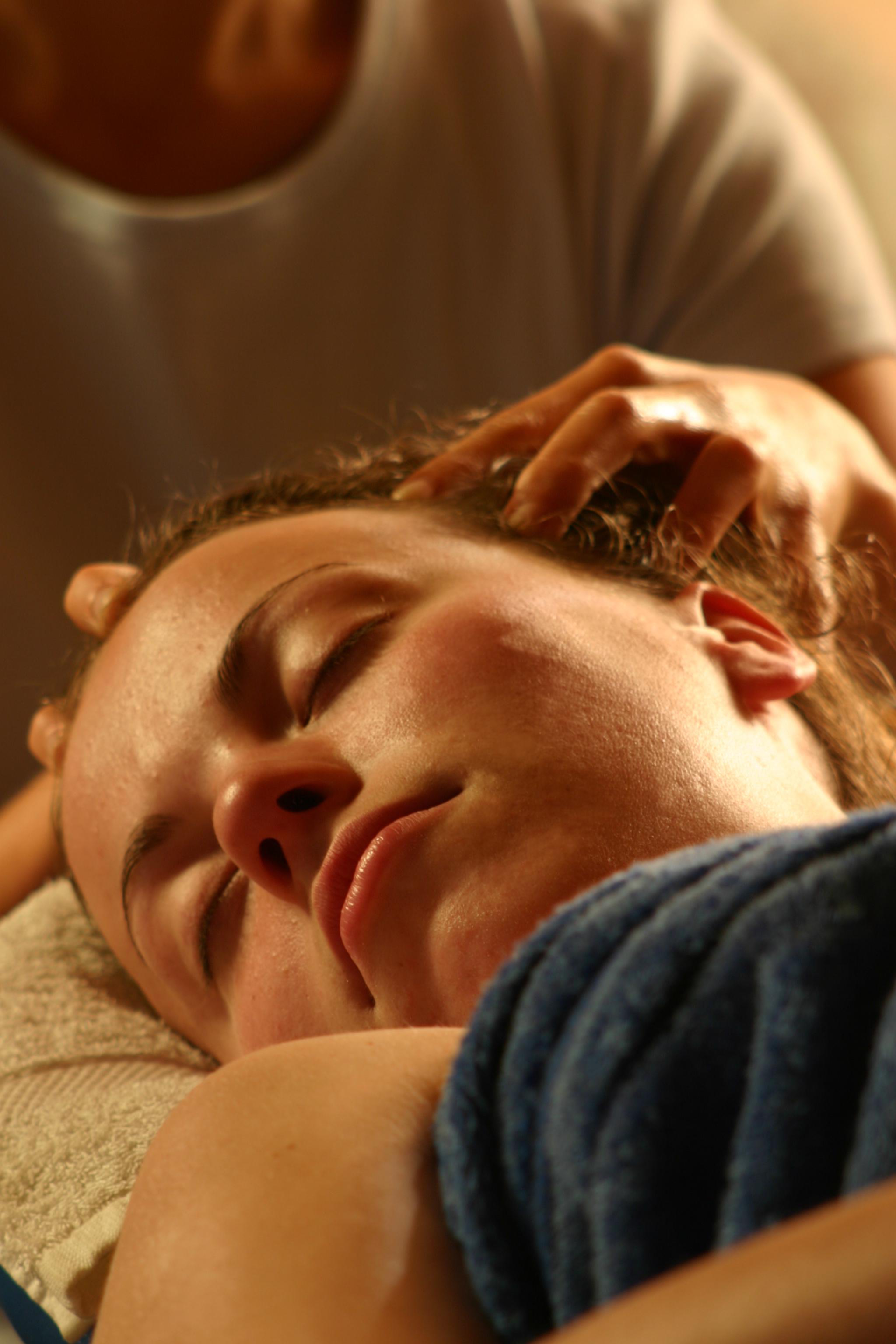 head massage in Bristol