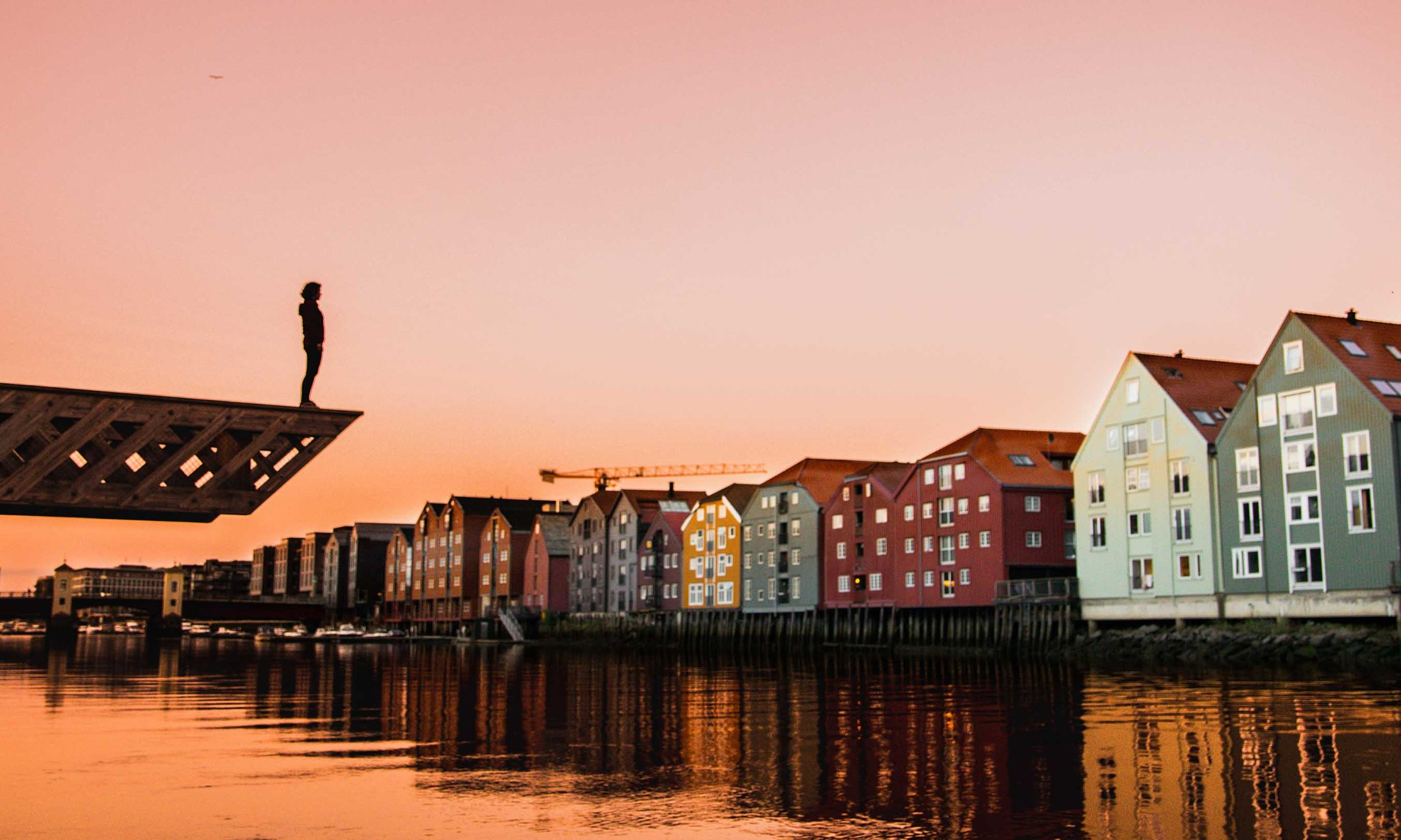 - With a population of 193,000, Trondheim is not a big city on a European scale. However, it is the third largest in Norway. While maybe most known for Nidarosdomen cathedral, try working in Trondheim and you will find it easy to connect with smart people across many industries. The Norwegian city's many coworking spaces and incubators that have popped up over the past few years have made it easy for innovative and creative types to connect with one another and establish themselves.