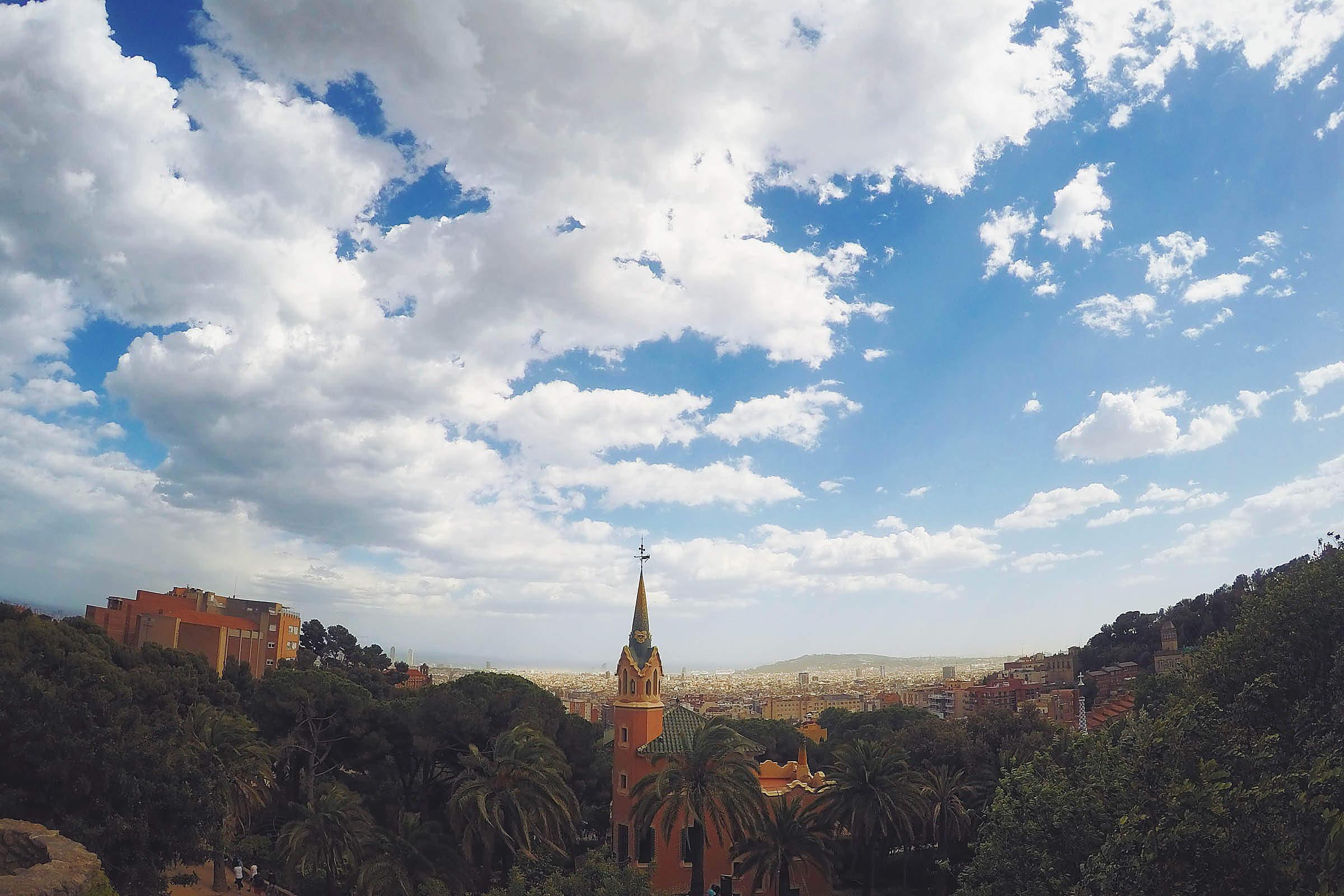 GoPro Shot Barcelona Gaudi