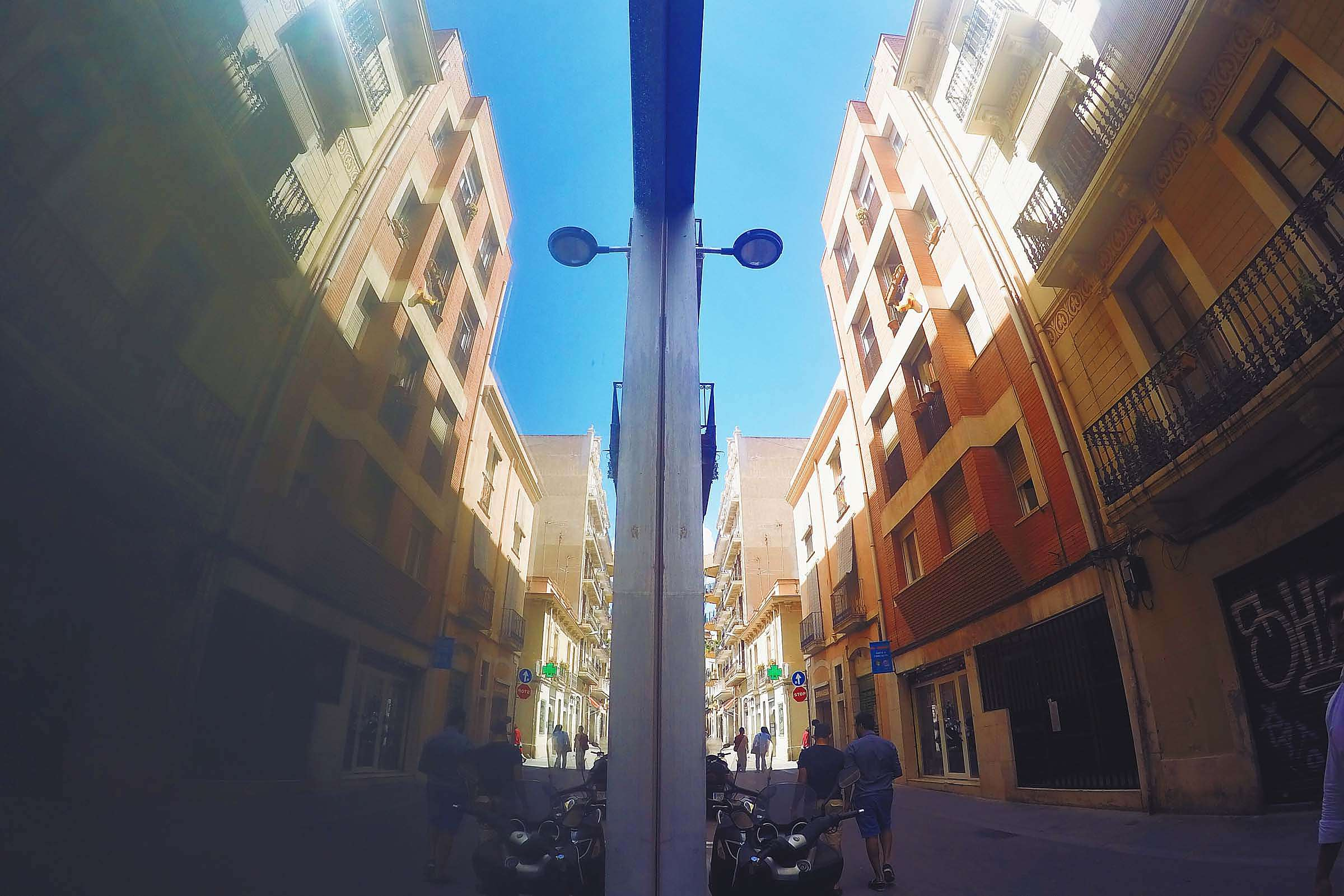Reflection Barcelona STreets