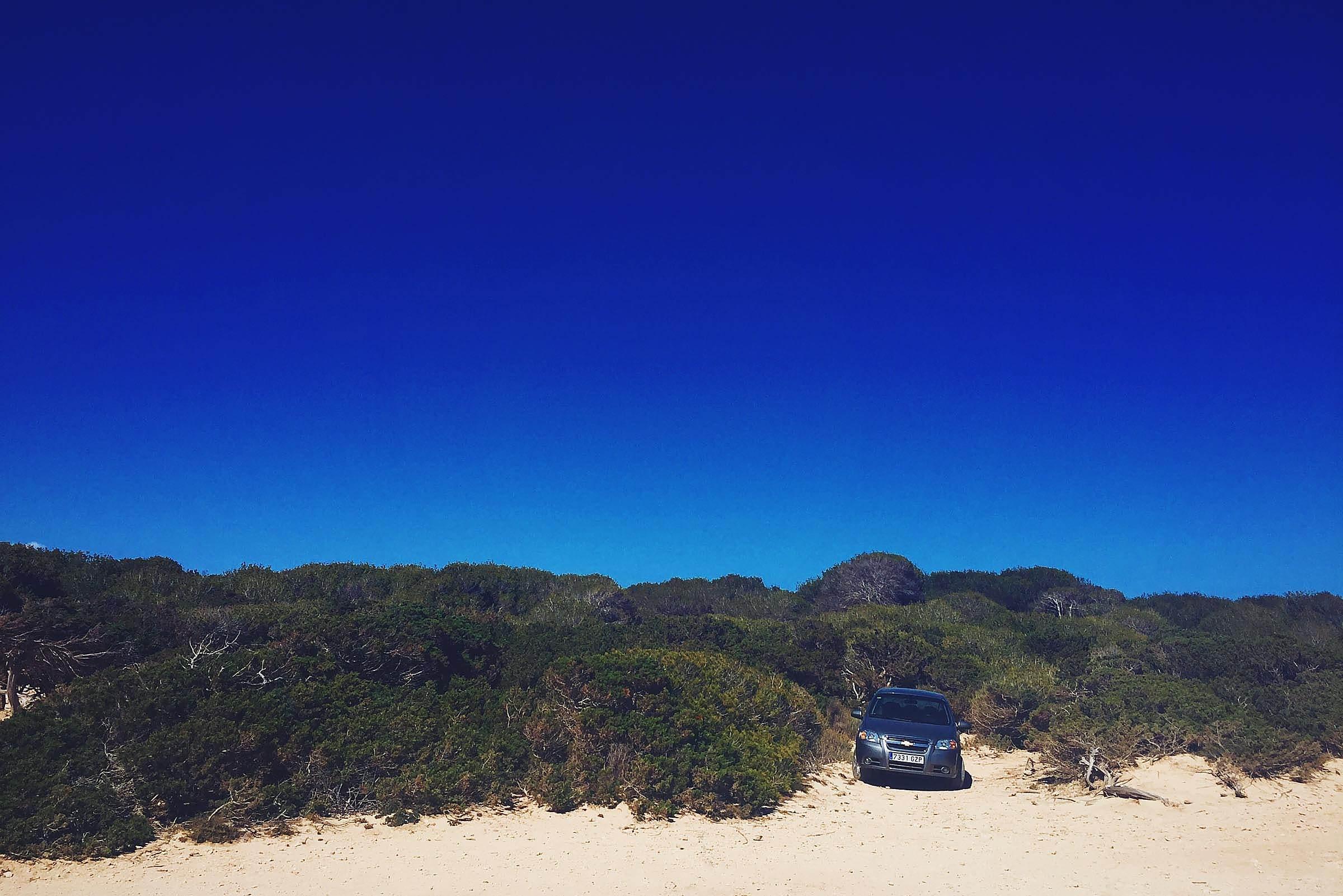 Ibiza Beach Car