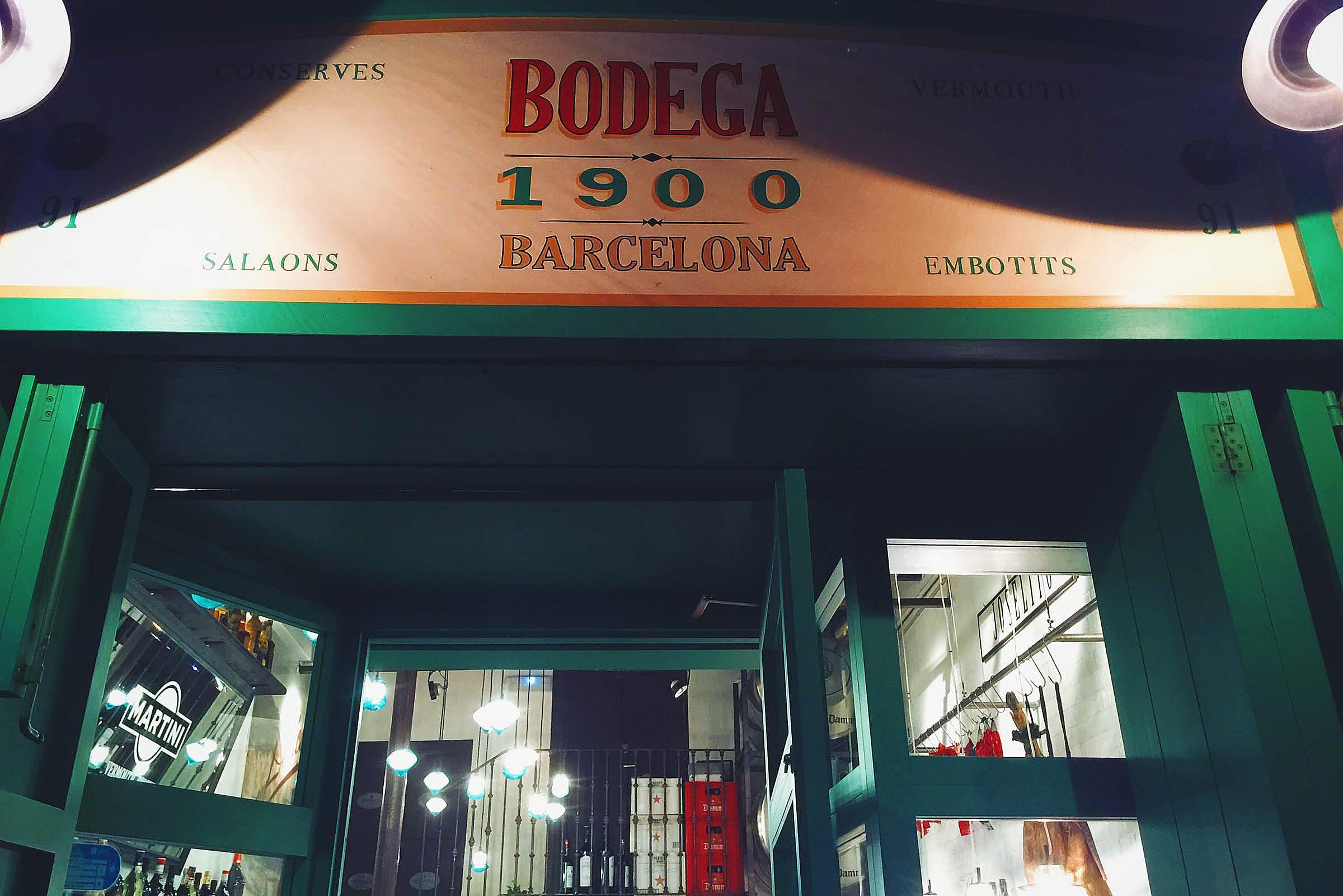 Bodega 1900 Barcelona