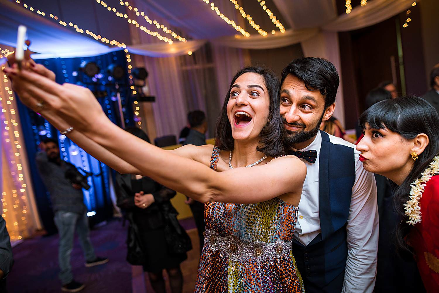 Reception Selfie