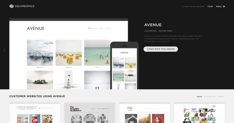 Squarespace New Site Theme