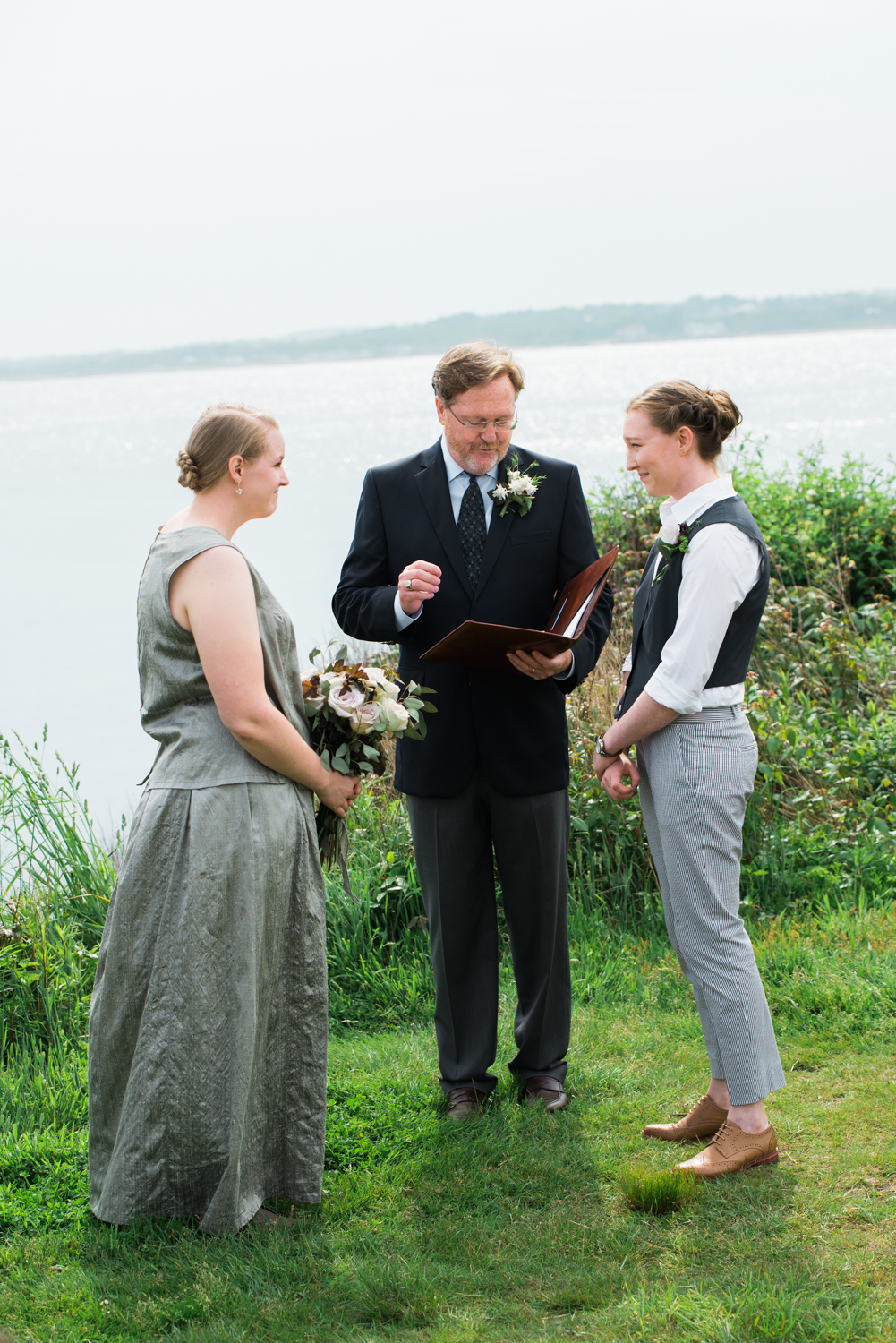 Backyard Jamestown/ Beavertail Wedding