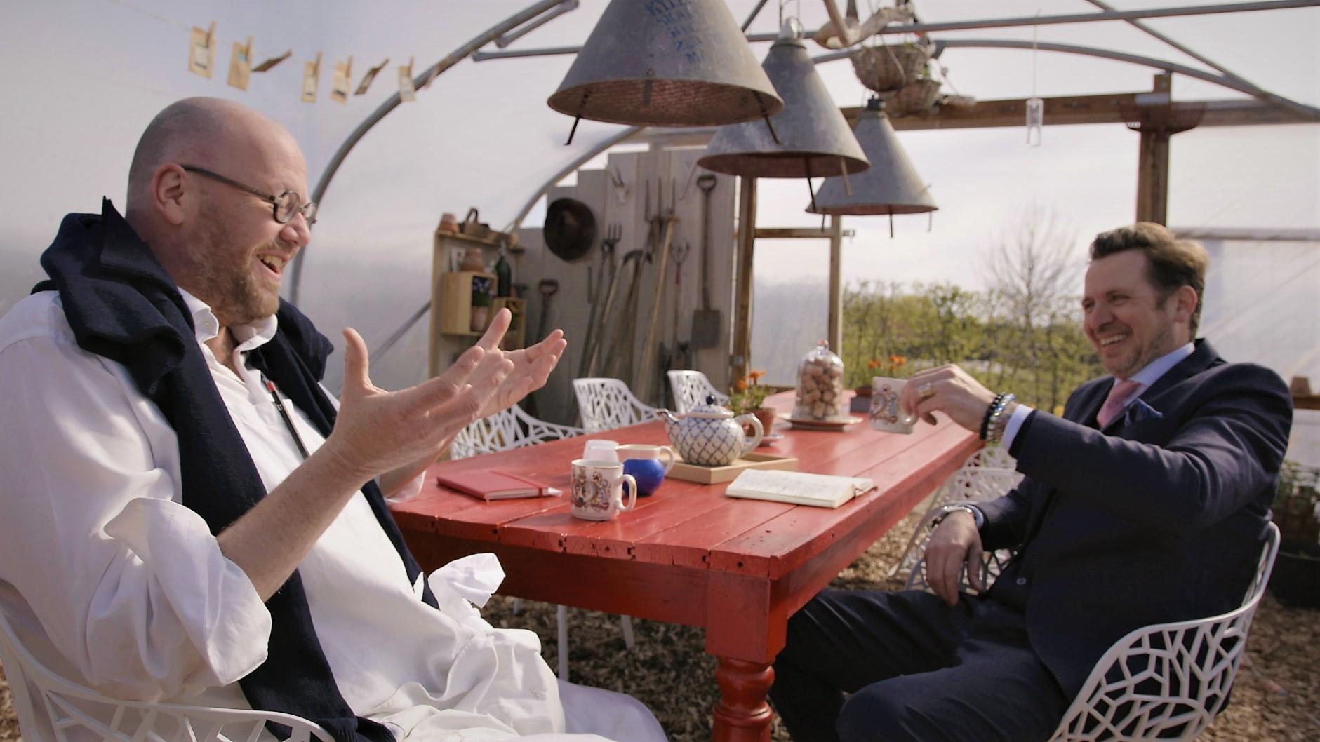 Garrey and Paul Laughing.jpg