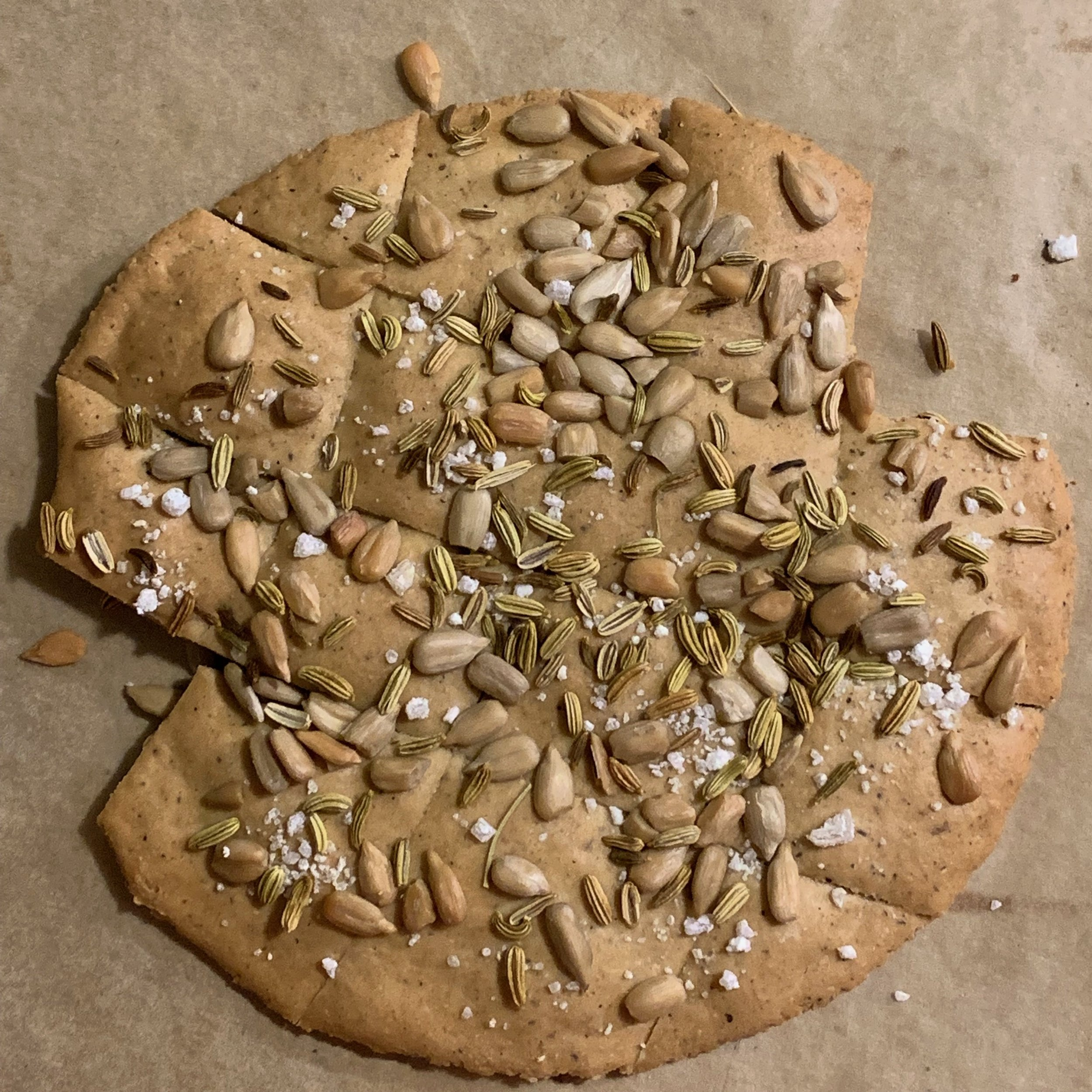 topped with sunflower seeds, salt and sweet nice - my favorite