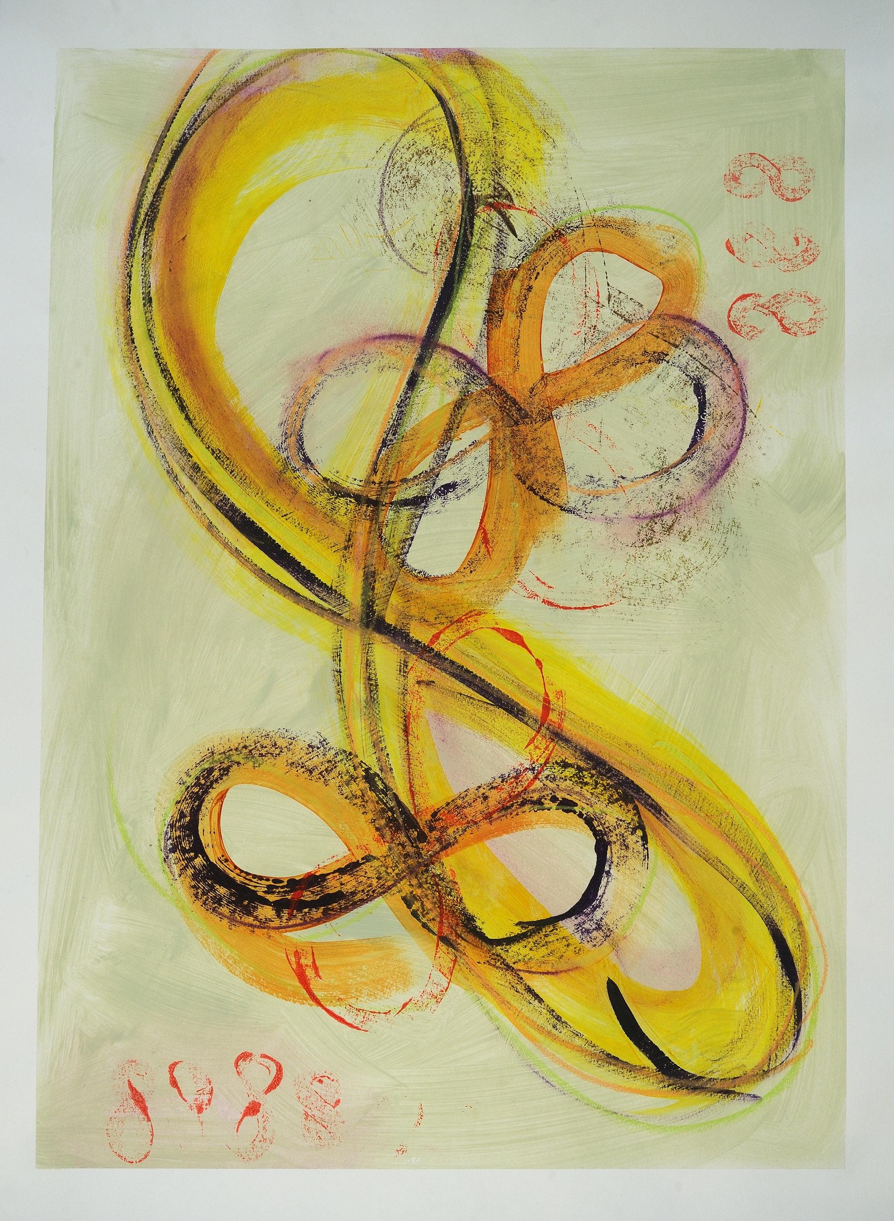 lifting flying ~ i am shifting - infinity series by Karin Edgett