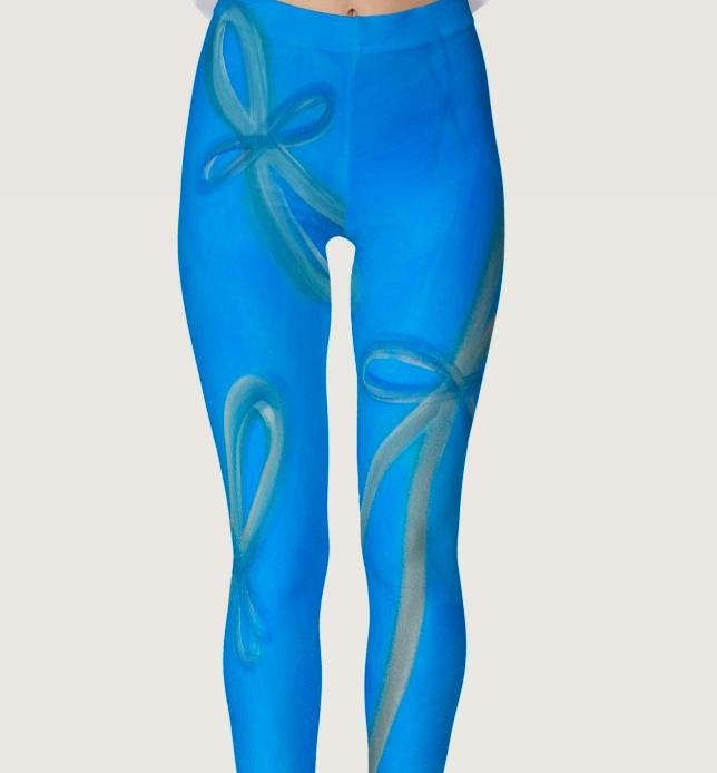 angelic infinity yoga pants 'floating joy' - purchase here