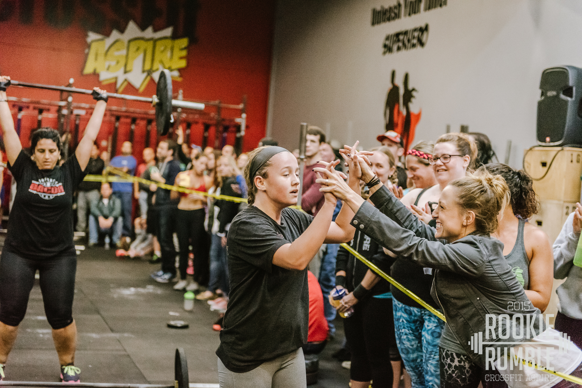 Show up, work out, have fun. That's the Rookie Rumble Way!