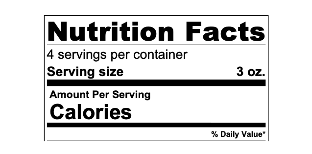Check out the Nutrition Labels and Ingredients List  Here!