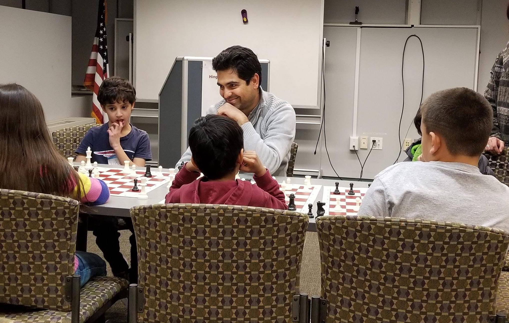 "Our Philosophy - ""The true joy of chess is that there is no end to how great you can be.""— Chess Master Farzad Abdi"
