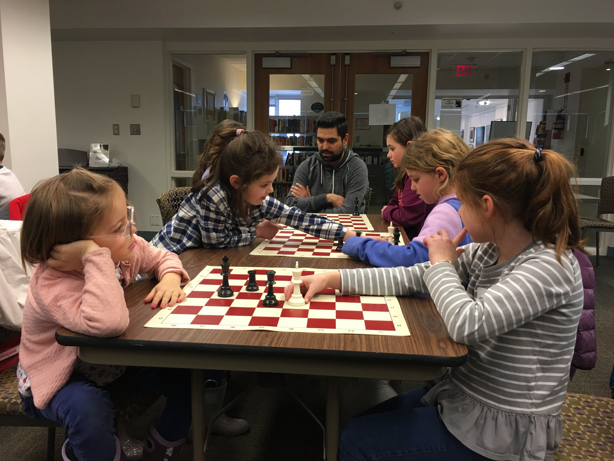 "Rave Reviews - ""My 7 year old twins loved their first chess lesson! The chess master patiently taught them the moves and now they are obsessed with chess!"""