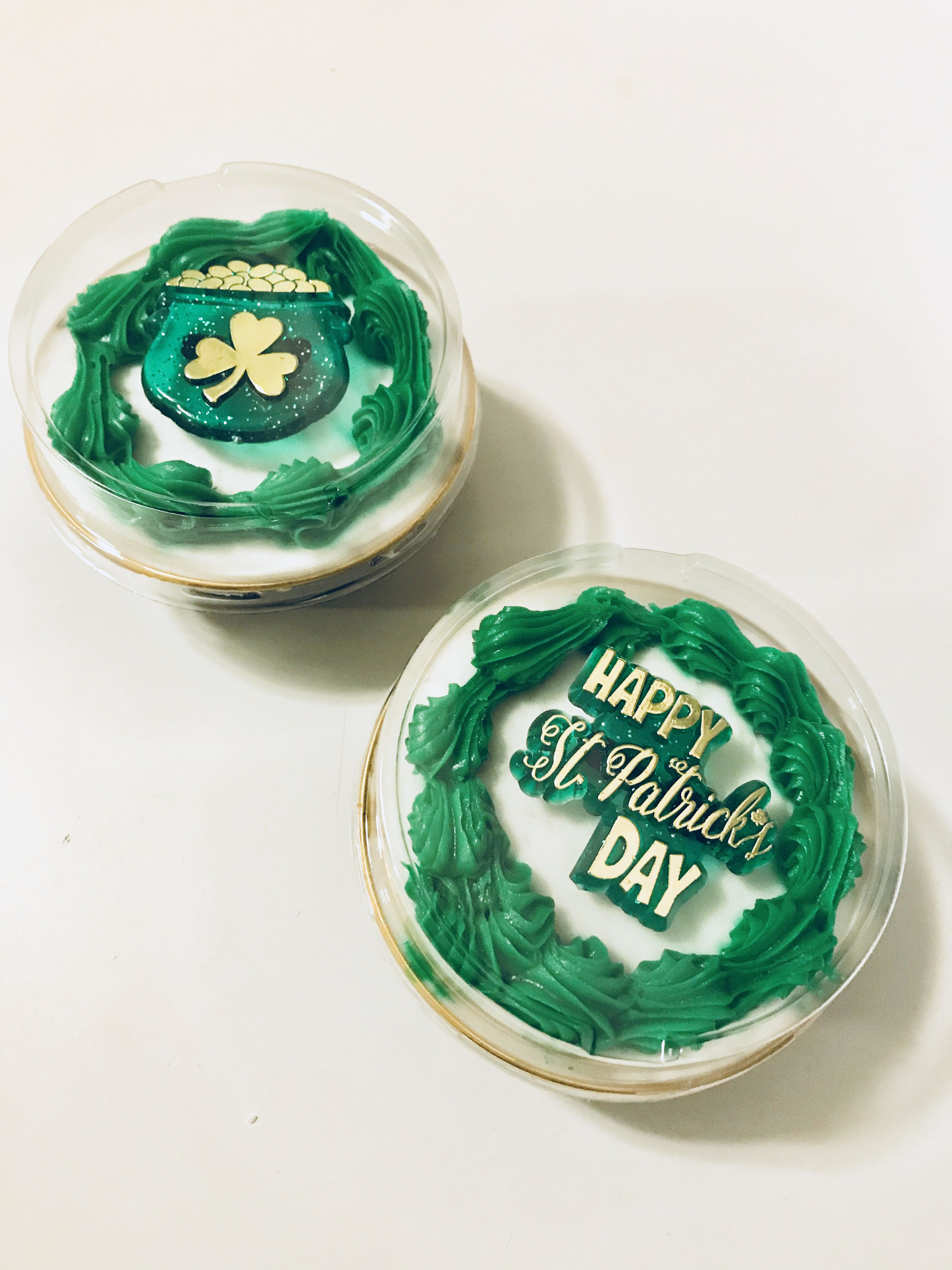 4. St. Patrick's Day Treats - Mini cupcakes from McHappy's Bake Shoppe to celebrate the holiday.