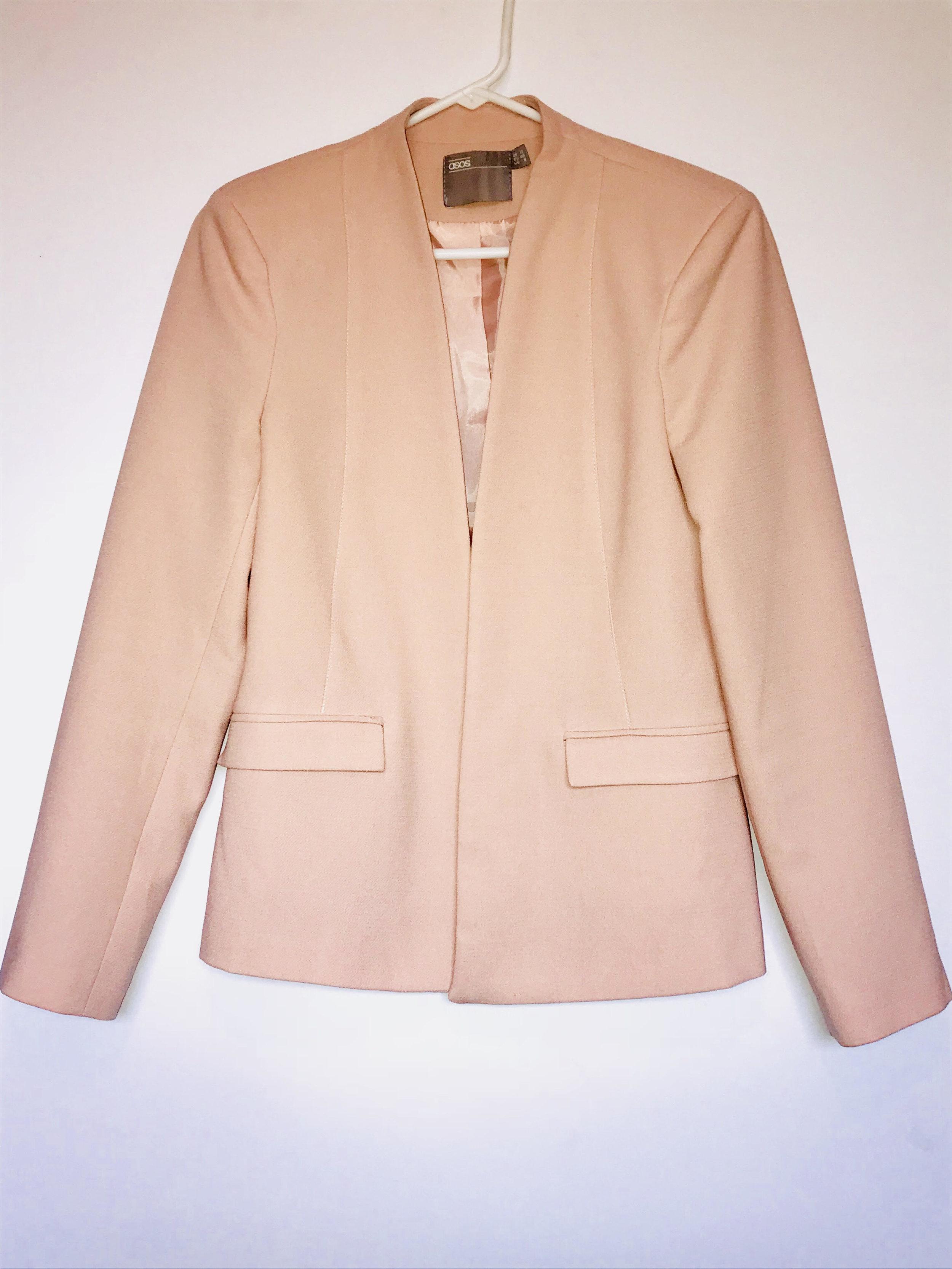 1. Pink Blazer - Price: $14Brand: ASOS