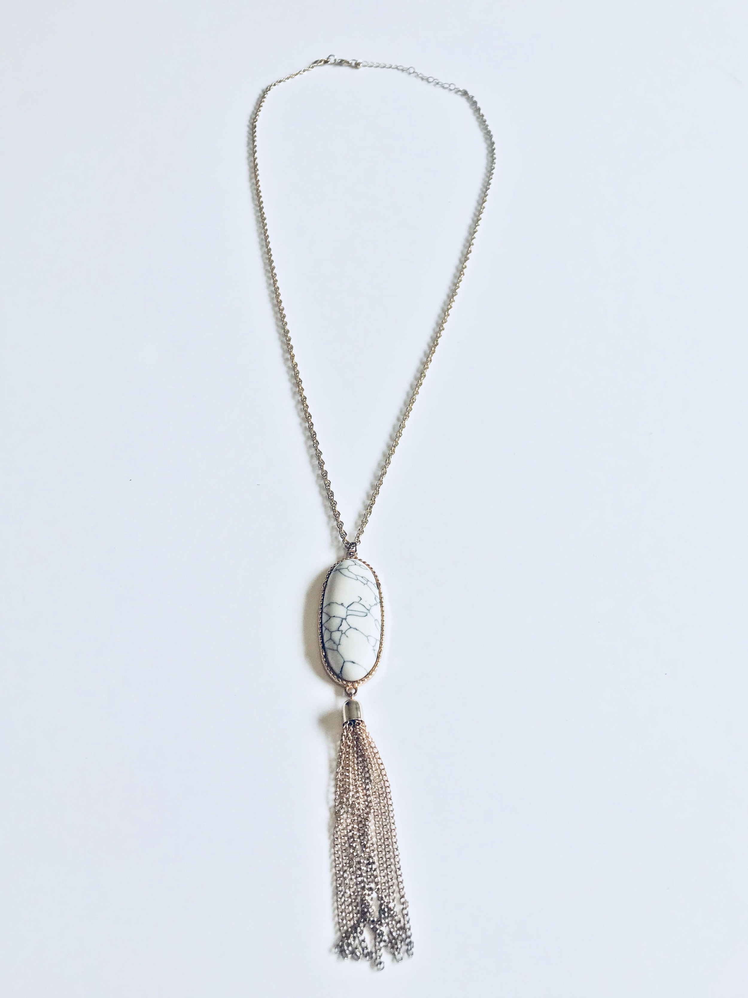 4. Marble Necklace - Price: $4Brand: Unknown
