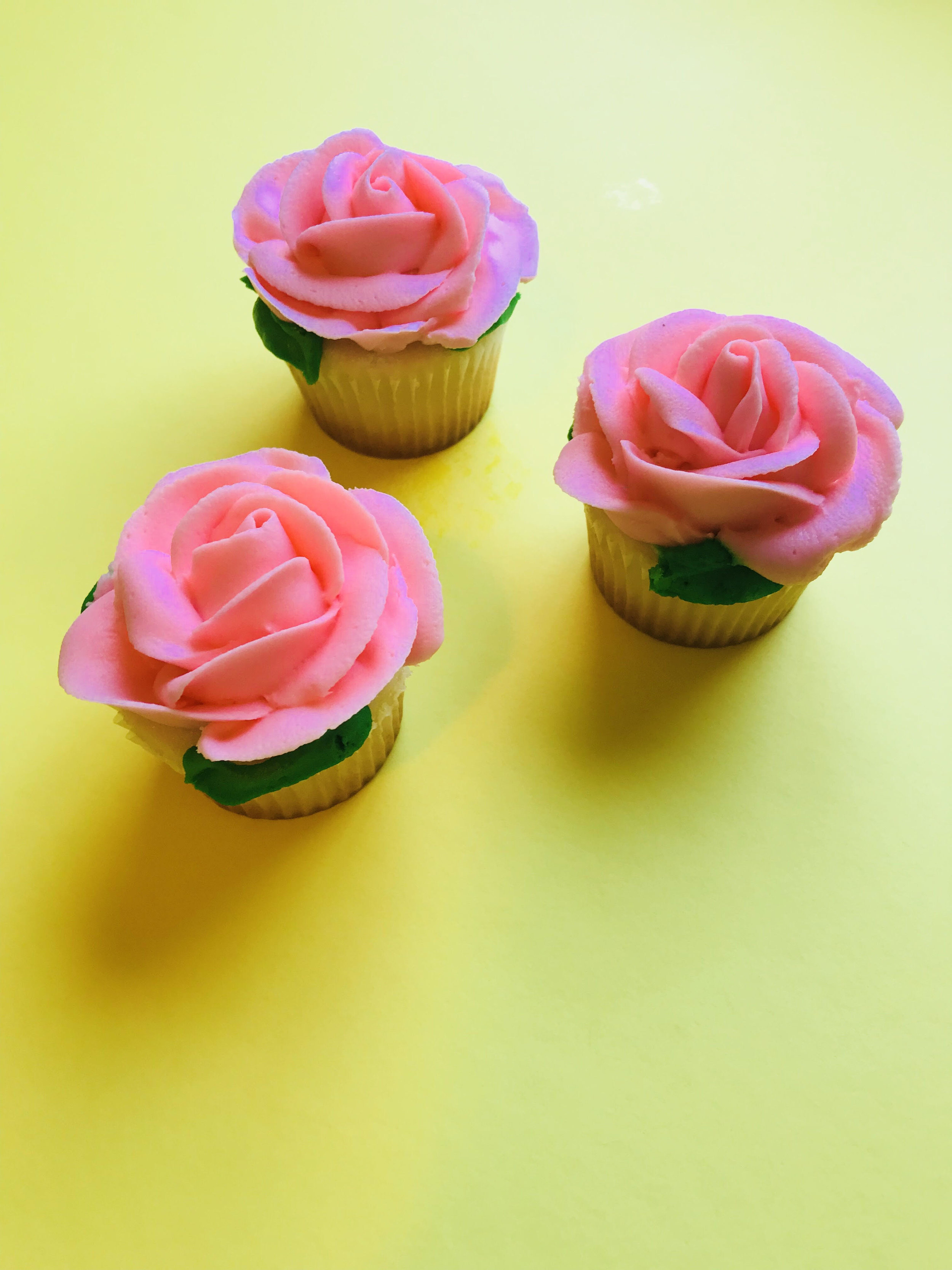 1. Rose Cupcakes - Rose cupcakes found at The Original Goodie Shop for $2.99 each. Which were perfect for watching The Bachelorette premiere with some friends on Monday.