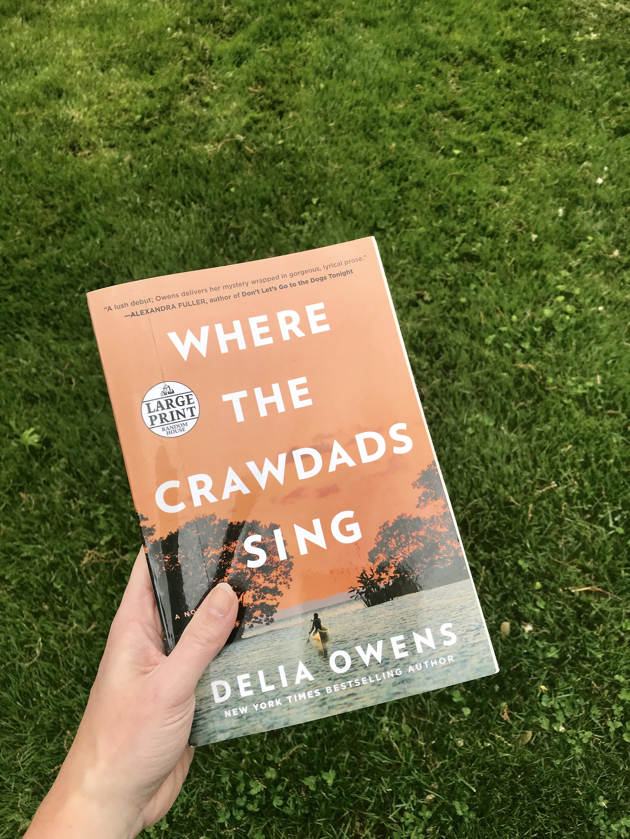 3. Current Library Book - Picked up Where the Crawdads Sing from the library this week. I'm about half way through and it is different than what I normally read, but I like it so far. Who else has read it?